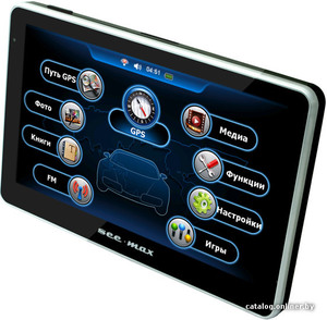 GPS навигатор SeeMax navi E510 HD 8GB ver 2