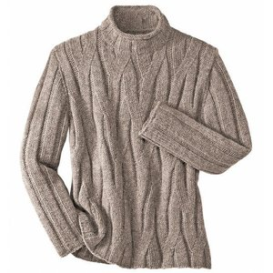 Вязание свитера круговыми спицами без швов - YouTube.